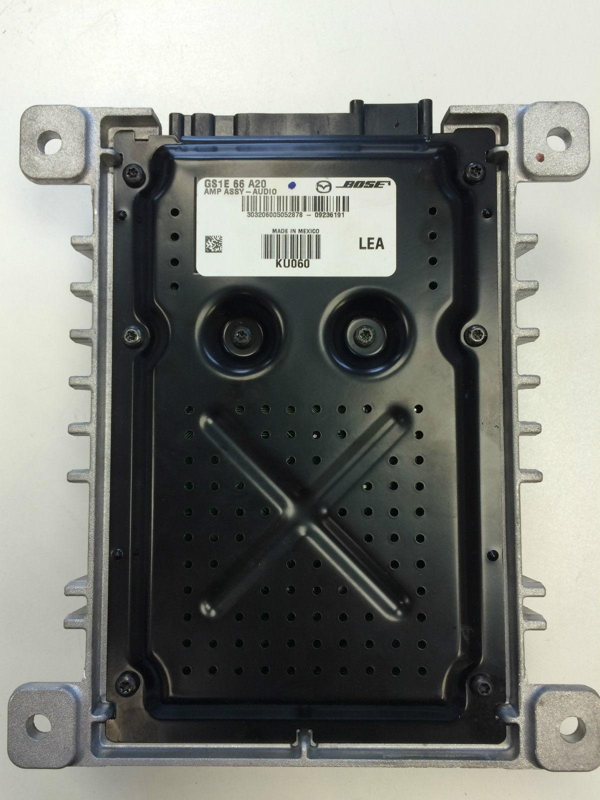 Mazda 3 Bose Amplifier Repairs - Paulison Corporation ...